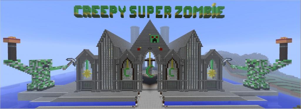 CreepySuperZombie - Minecraft - MCTowerDay